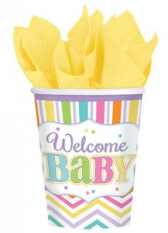 Baby Brights Paper Cups 18pk