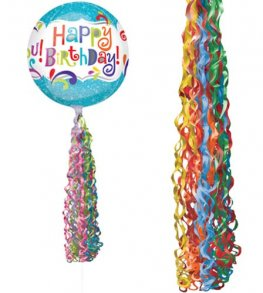 Primary Coloured Twirlz Balloon Tails