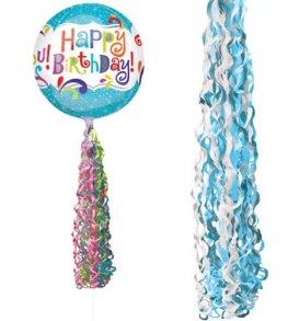 Blue Coloured Twirlz Balloon Tails