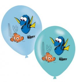 "11"" Finding Dory Printed Latex Balloons 6pk"