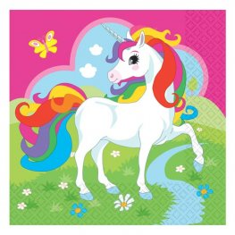Unicorn Luncheon Napkins 20pk