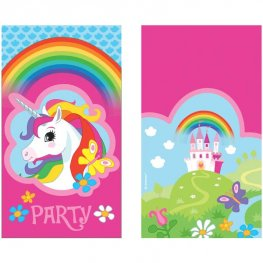 Unicorn Party Invitations 8pk