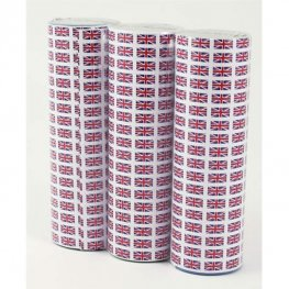 Union Jack Party Throw Streamers 18pk