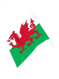 Wales Waving Flag