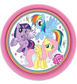My Little Pony Paper Plates 8pk