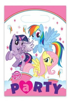 My Little Pony Party Lootbags 8pk