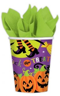 Witches Crew Paper Cups 8ct