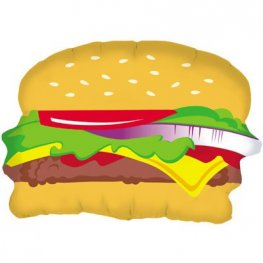 Hamburger Supershape Balloons