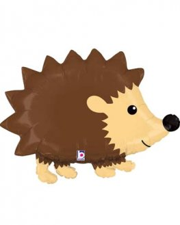 Woodland Hedgehog Shape Foil Balloons