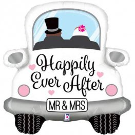 Happily Ever After Car Supershape Balloons