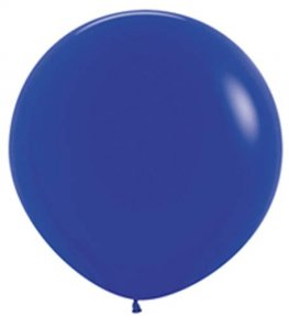 Metallic Blue Giant Latex Balloons