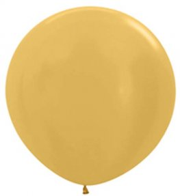 Metallic Gold Giant Latex Balloons