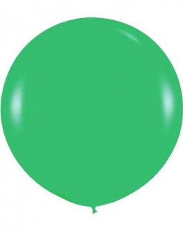 Metallic Apple Green Giant Latex Balloons