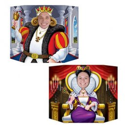 Double Sided King/Queen Photo Prop