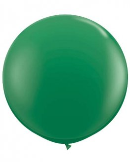 Metallic Green Giant Latex Balloons