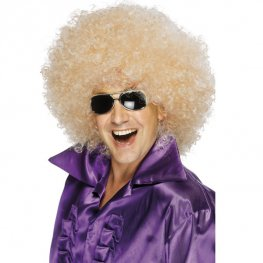 Blonde Mega Huge Afro Wigs