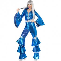 1970's Dancing Dream Blue Costumes