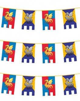 Knights And Dragons Bunting