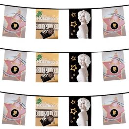 Hollywood Pennant Bunting