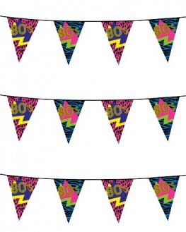 80s Party Bunting