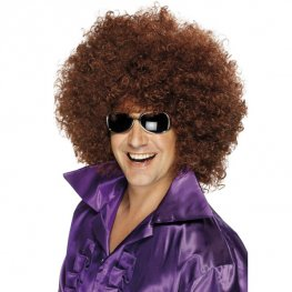 Brown Mega Huge Afro Wigs