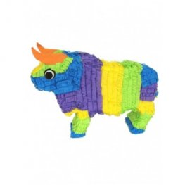 Multi Colour Bull Pinata