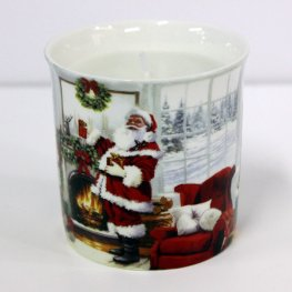 Santa Christmas Scented Candle