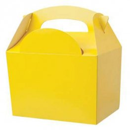Yellow Party Box With Handle