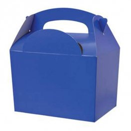 Royal Blue Party Box With Handle