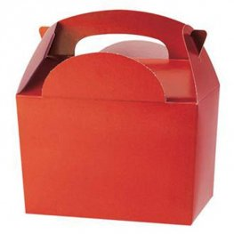 Red Party Box With Handle