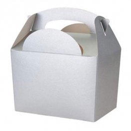 Silver Party Box With Handle