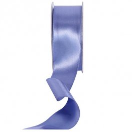 Cornflower Blue Double Faced Satin Ribbon 38mm x 20m