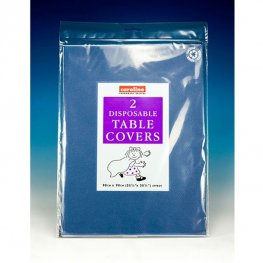 Royal Blue Paper Tablecovers 10 Pack Of 2