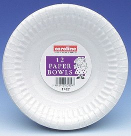 8oz White Paper Bowls 8pks Of 12