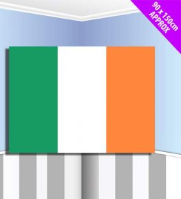 Irish Fabric Flag