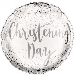 "18"" Christening Day Foil Balloons"