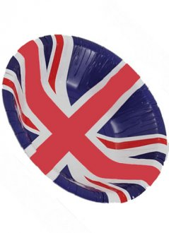 Union Jack Paper Party Bowls 8pk