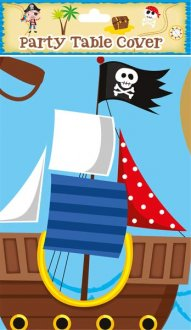 Pirate Plastic Tablecover 1pk