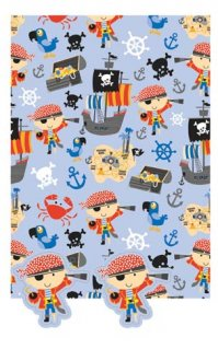 Pirate Gift Wrap And Tags