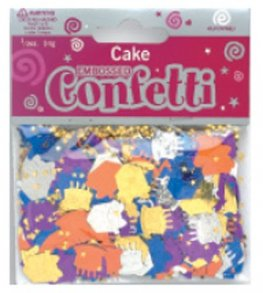 Cake And Gift Box Confetti