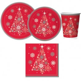 Christmas Tree Tableware Set