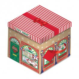 Toy Shop Christmas Square Gift Box