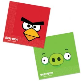 Angry Birds Paper Napkins x16