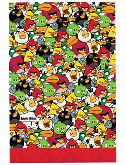 Angry Birds Plastic Tablecover x1