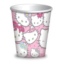 Hello Kitty Paper Cups x8