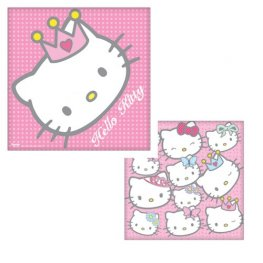 Hello Kitty Napkins x16