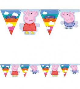 Peppa Pig Party Room Banner x1