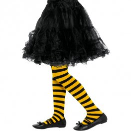 Bee Stripe Tights