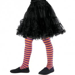 Orange And Purple Wicked Witch Tights