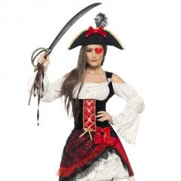 Glam Pirate Lady Fancy Dress Costumes